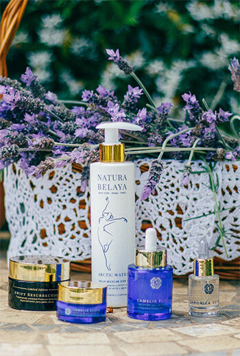 Natura Belaya beatiful natural skincare product line from Spain
